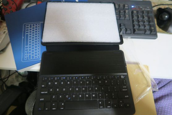 【タブレット】amazonでiPadPro9.7インチ用キーボード付きカバーを3,000円で購入