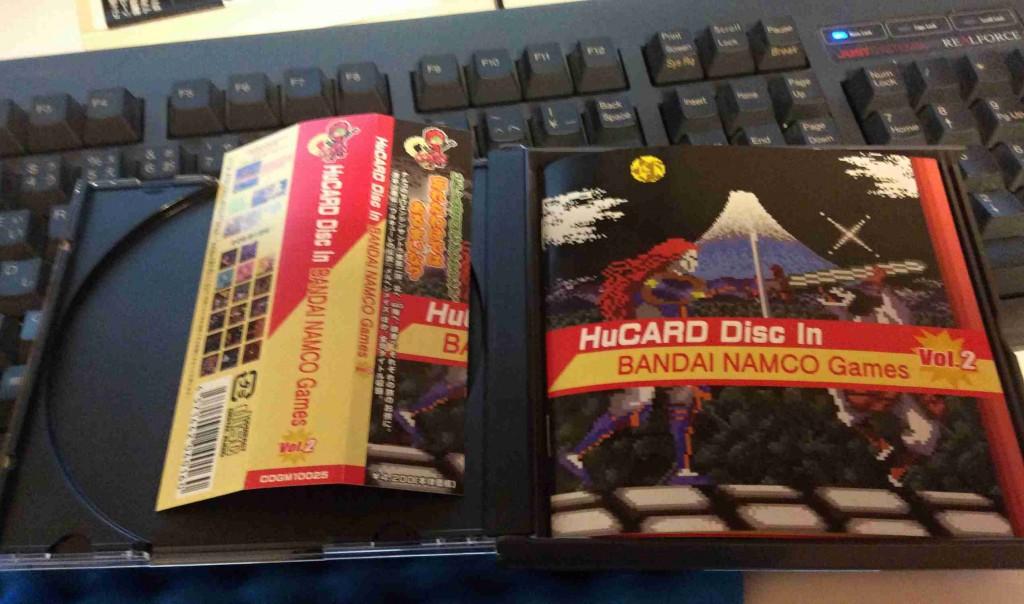 【購入日記】ファミコン神拳とナムコのレトロゲーム音楽ムックを購入!