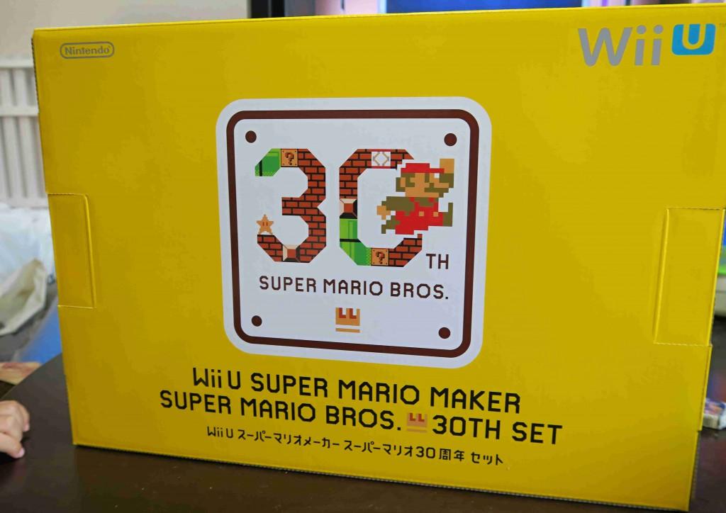 【ゲーム日記】Wii Uとスーパーマリオメーカー購入。エキサイトバイクみたいで楽しい